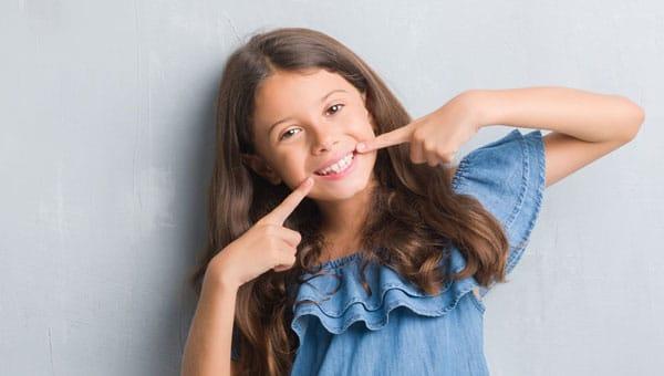 Girl smiling Talbot Orthodontics in Citrus Heights and Roseville, CA